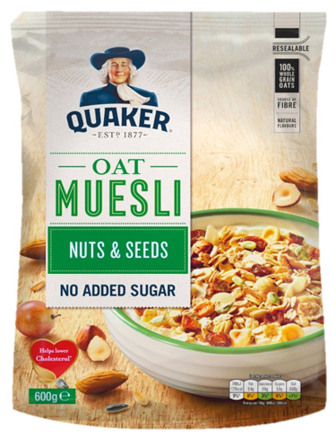 Muesli Traditional Nuts and Seeds
